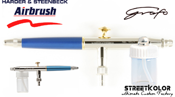 Airbrush striekacia pištoľ HARDER & STEENBECK Grafo T3 0,4mm + stojan zdarma