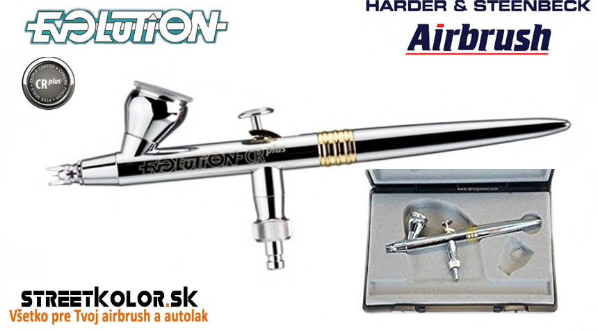 Airbrush striekacia pištoľ HARDER & STEENBECK Evolution CRplus 0,4mm