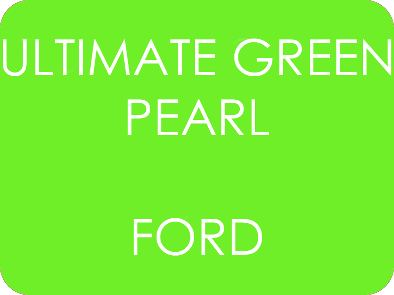 Ford ultimate Green Pearl - 2 vrstvová perleť