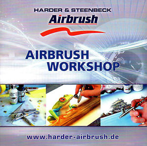 Harder Steenbeck airbrush dvd - Ako na to?
