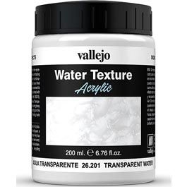 Vallejo Diorama Effects Transparent Water (Colorless) 200 ml.