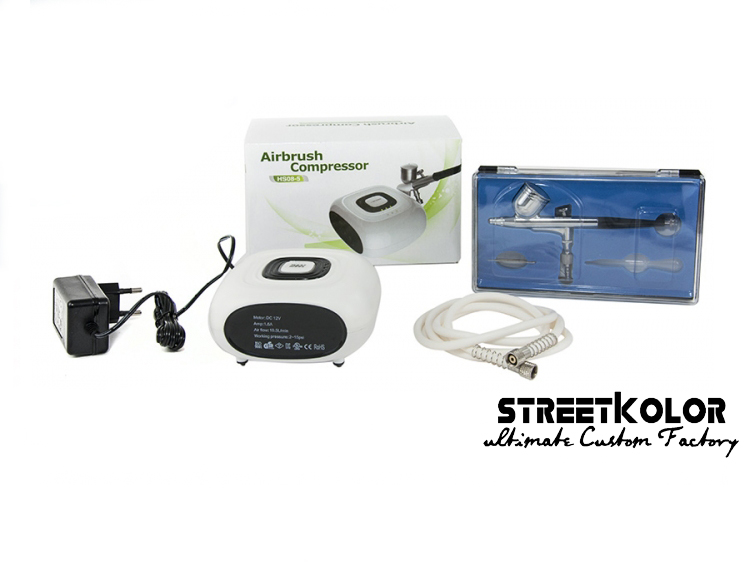 Airbrush set s kompresorom HS-08