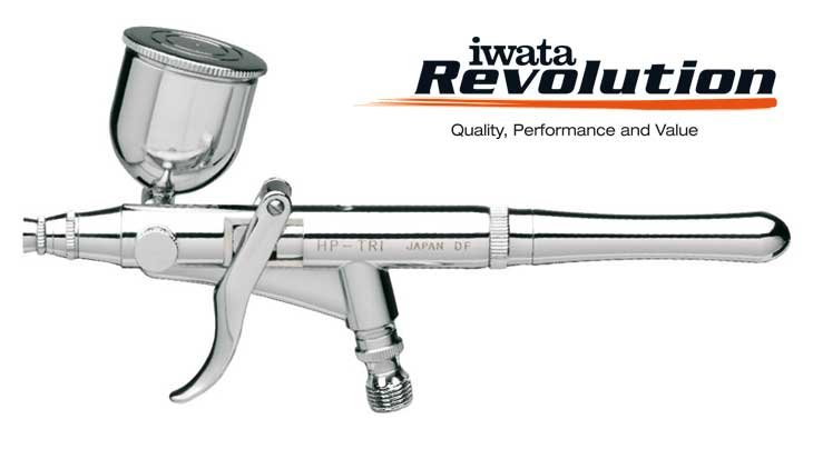 Iwata Revolution HP-TR0 0,2mm airbrush pištoľ