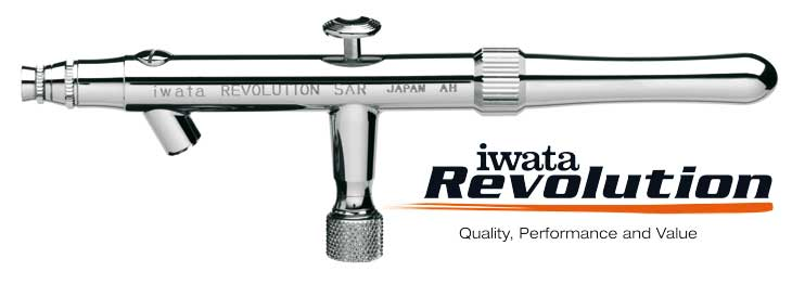 Iwata Revolution HP-SAR 0,5mm airbrush pištoľ