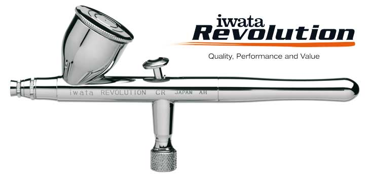 Iwata Revolution HP-CR 0,5mm airbrush pištoľ