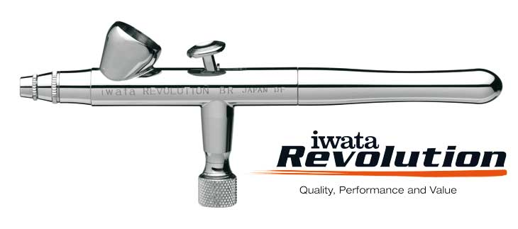 Iwata Revolution HP-BR 0,3mm airbrush pištoľ