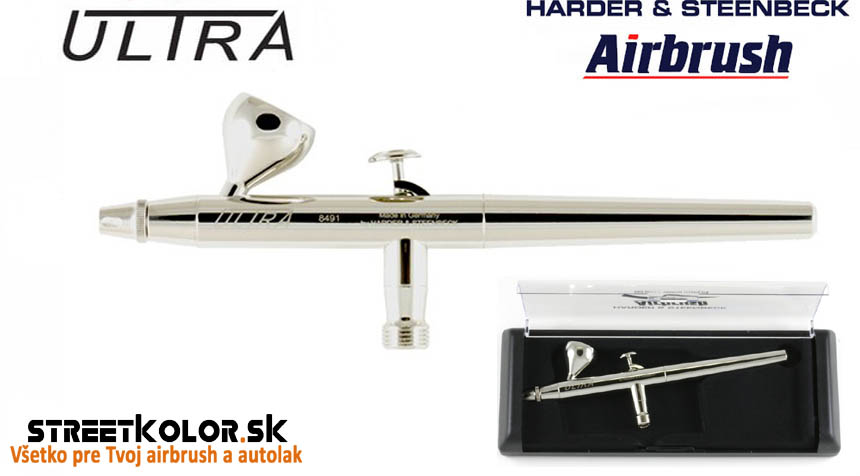 Airbrush striekacia pištoľ HARDER & STEENBECK ULTRA 0,2mm
