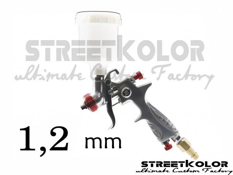 mini striekacia pištoľ 1,2 mm (90-170l/min.)